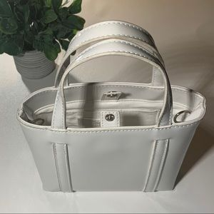 White Patent Urban Outfitters Purse